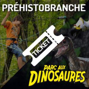 Parc aux dinosaures + Préhistobranche